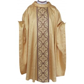 Chasuble en damassé