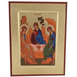 Icône peinte Sainte Trinitée